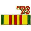 Eagle Emblems P14801 Pin-Ribb, Viet, 73' (7/8