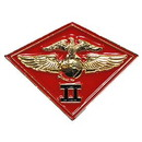 Eagle Emblems P14815 Pin-Usmc, 002Nd Mc Wing (1-1/8