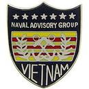 Eagle Emblems P14824 Pin-Viet, Usn Advisory Grp (1