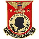 Eagle Emblems P14826 Pin-Uss, Forrestal (1