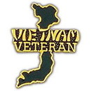 Eagle Emblems P14830 Pin-Viet, Map, Viet Script (1