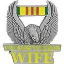 Eagle Emblems P14836 Pin-Viet, Veteran, Wife (1