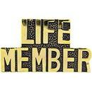 Eagle Emblems P14860 Pin-Script, Life Member (1-1/4