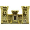 Eagle Emblems P14868 Pin-Army, Engineer, Gold (1-1/8