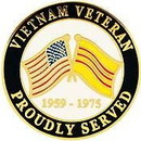 Eagle Emblems P14871 Pin-Viet, Proudly Served (1