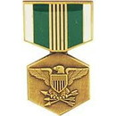 Eagle Emblems P14928 Pin-Medal, Army Commend. (1-3/16