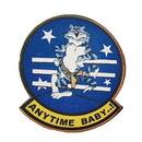 Eagle Emblems P14952 Pin-Usn, Tomcat, Anytime (1