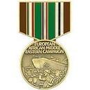 Eagle Emblems P14962 Pin-Medal, Euro/Afro/Me, Cm (1-3/16