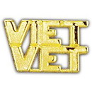 Eagle Emblems P14998 Pin-Viet, Scr, Viet.Vet (1