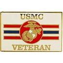 Eagle Emblems P15013 Pin-Usmc Logo, Veteran, Rec (1-1/16