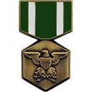 Eagle Emblems P15050 Pin-Medal, Usn/Usmc Commd. (1-3/16