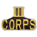Eagle Emblems P15072 Pin-Viet, Scr, Iii Corps (1