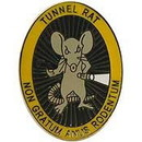 Eagle Emblems P15075 Pin-Viet, Tunnel Rat (1-1/16