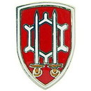 Eagle Emblems P15084 Pin-Army, Eng.Comm., Sheild (7/8