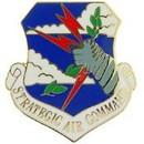 Eagle Emblems P15142 Pin-Usaf, Strategic Air Cm (1