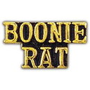 Eagle Emblems P15177 Pin-Viet, Scr, Boonie Rat (1