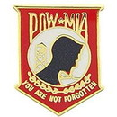 Eagle Emblems P15181 Pin-Pow*Mia, You'Re Not, Rd (Mini) (5/8