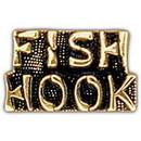 Eagle Emblems P15196 Pin-Viet, Scr, Fish Hook (1