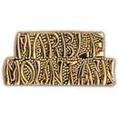 Eagle Emblems P15225 Pin-Viet, Scr, Marble Mount (1