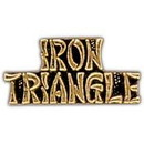 Eagle Emblems P15226 Pin-Viet, Scr, Iron Triangl (1