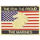 Eagle Emblems P15291 Pin-Usmc, The Few, Usa (1-1/16