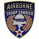 Eagle Emblems P15326 Pin-Army, A/B, Troop Carr. (1
