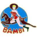 Eagle Emblems P15385 Pin-Nose, Bambi (1