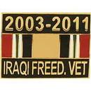 Eagle Emblems P15386 Pin-Iraqi Freed, Ribbon 2003-2011 (1