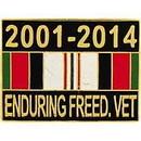 Eagle Emblems P15387 Pin-Endur.Freed, Ribbon 2001-2014 (1