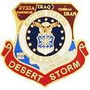 Eagle Emblems P15578 Pin-Dest.Storm, Usaf, Map (1