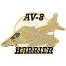 Eagle Emblems P15623 Pin-Apl, Av-8 Harrier (1-1/2