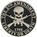 Eagle Emblems P15700 Pin-2Nd Amendment (1