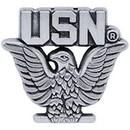 Eagle Emblems P15743 Pin-Usn, Enlisted, Pwt (Mini) (3/4