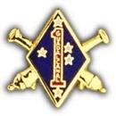 Eagle Emblems P15755 Pin-Usmc, 001St Div.Artlry (1