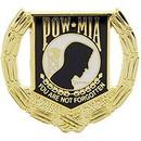 Eagle Emblems P15781 Pin-Pow*Mia Wreath (1-1/8