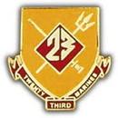 Eagle Emblems P15802 Pin-Usmc, 023Rd Rgt. (1