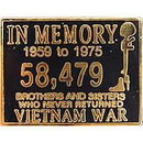 Eagle Emblems P15843 Pin-Viet, In Memory (1