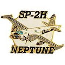 Eagle Emblems P15892 Pin-Apl, Sp-2H Neptune (1-1/2