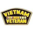 Eagle Emblems P15908 Pin-Viet, Veteran, Svc.Ribb (1-1/4