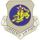 Eagle Emblems P15961 Pin-Usaf, 014Th, Shield (1