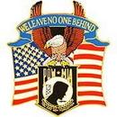 Eagle Emblems P16019 Pin-Pow*Mia, Eagle-Usa