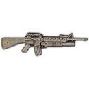 Eagle Emblems P16139 Pin-Rifle, M-203 (2-1/4