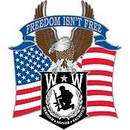 Eagle Emblems P16183 Pin-Wounded Warrior Eagle