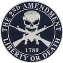 Eagle Emblems P16269 Pin-2Nd Amendment (1-1/2