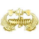 Eagle Emblems P16306 Pin-Usn, Sub.Deep (Gld) (1-3/8