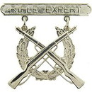 Eagle Emblems P16367 Bdg-Usmc, Rifle, Expert (1-7/8