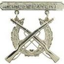 Eagle Emblems P16367 Bdg-Usmc, Rifle, Expert (1-7/8