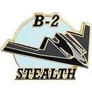 Eagle Emblems P18033 Pin-Apl, B-02 Stealth Sprt (1-1/2