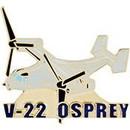 Eagle Emblems P18070 Pin-Apl, V-22 Osprey (1-1/2