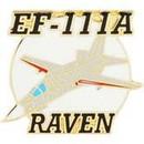 Eagle Emblems P18105 Pin-Apl, Ef-111A Raven (1-1/2